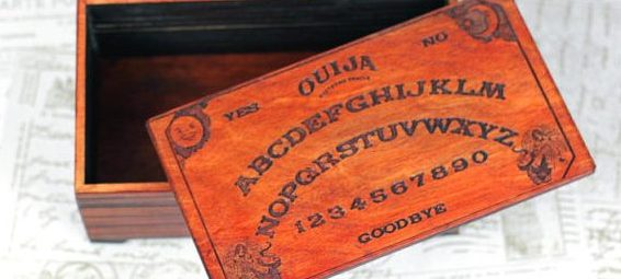 Ouija Board Trinket Box